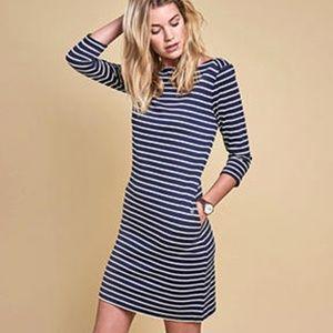 Barbour Wharf Stripe Jersey Dress - As New